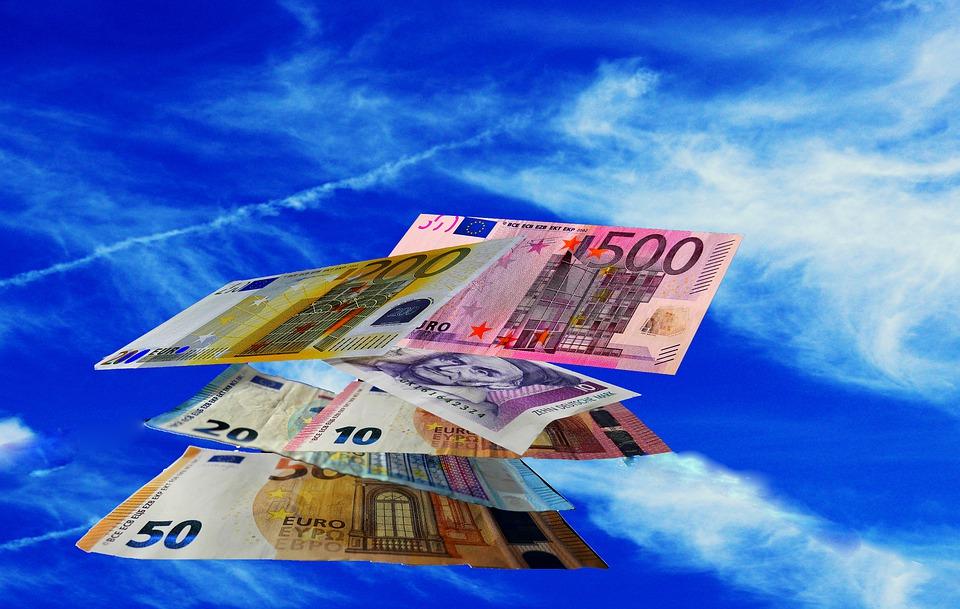 bankovky evropské