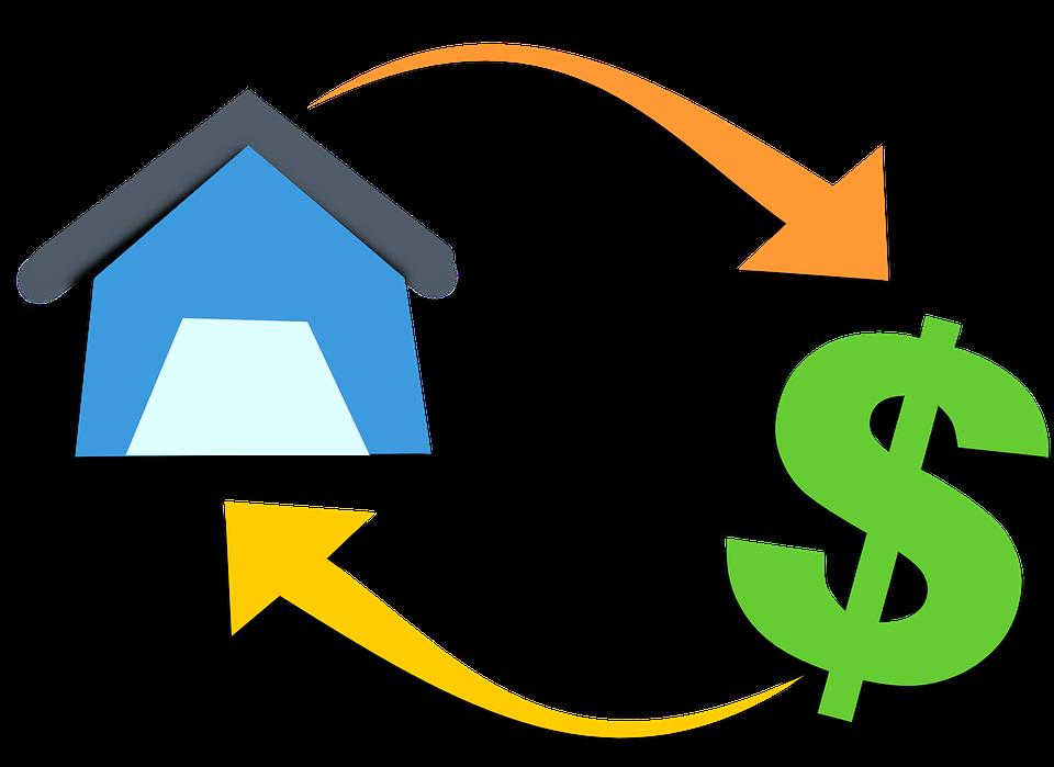 peníze za dům